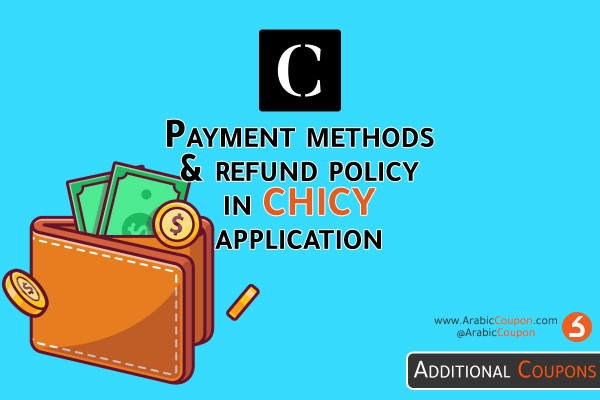 Payment methods and return policy in Chicy app - Step by step in 2021 -