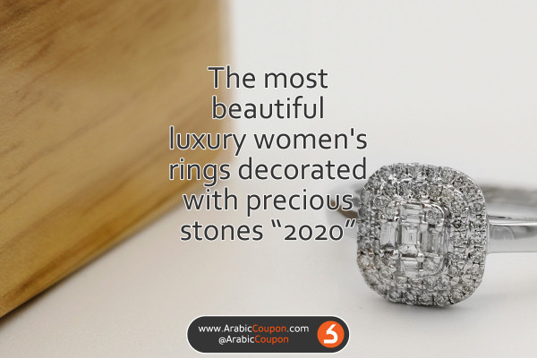 The most beautiful luxury women's rings decorated with precious stones - Autumn & winter collection - 2020