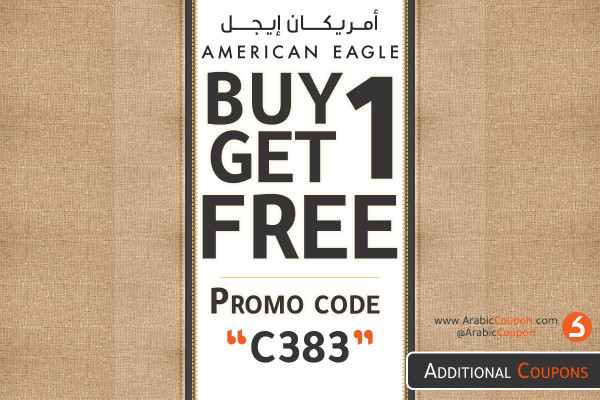 Buy 1 Get 1 FREE from American Eagle - October deals & offers 2020