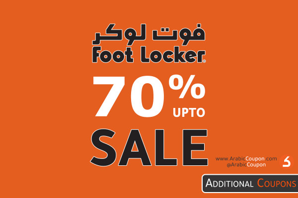 FootLocker SALE up to 70% OFF on most products in Saudi Arabia, Kuwait, UAE and Egypt