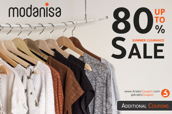 SALE Summer Clearance (upto 80%) from Modanisa