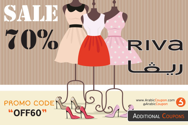 RIVA SALE up to 70% OFF on most fashion products - RIVA NEWS & deals for September 2020