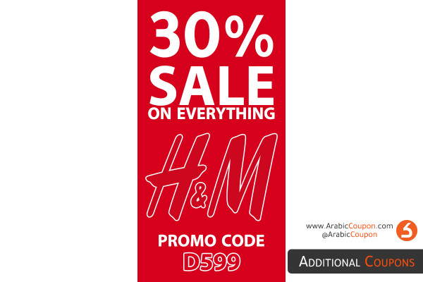 H&M start 30% SALE & 10% Promo code with total 40% discount on all items