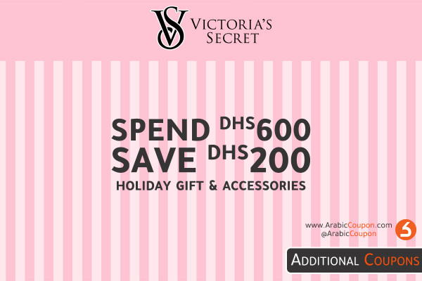 SAVE DHS 200 when spending DHS 600 from Victoria's Secret - latest offers