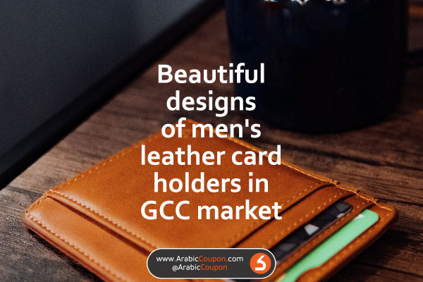 The most beautiful designs of men leather card holders - the latest men's fashion news 2020