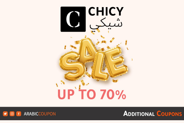 CHICY announced the latest summer SALE up to 70% with additional coupons