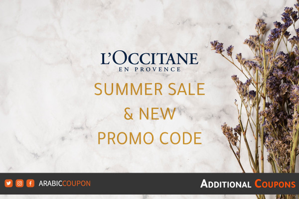 L'Occitane launched 30% summer SALE with an extra new coupon