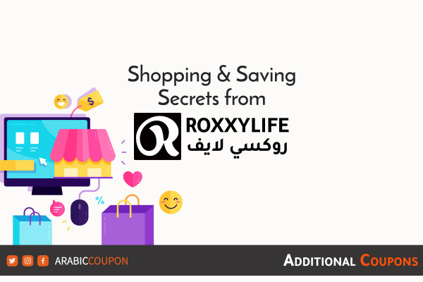 Saving secrets when shopping online from RoxxyLife with extra coupons and promo codes