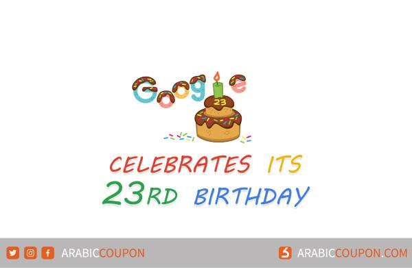 Google celebrates its 23rd birthday today