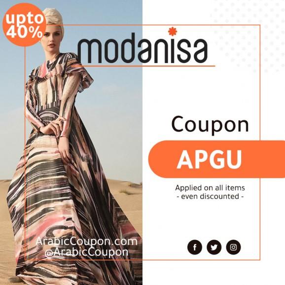 40% Modanisa Coupon - 2020 Modanisa Promo Code - ArabicCoupon