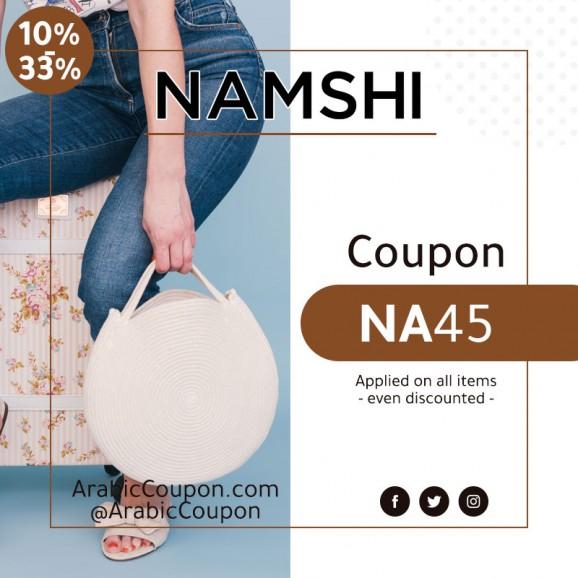 Active 10-33% Namshi coupon (Namshi Promo code 2020)